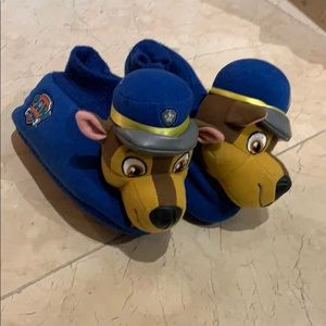 Paw patrol slippers size 11-12